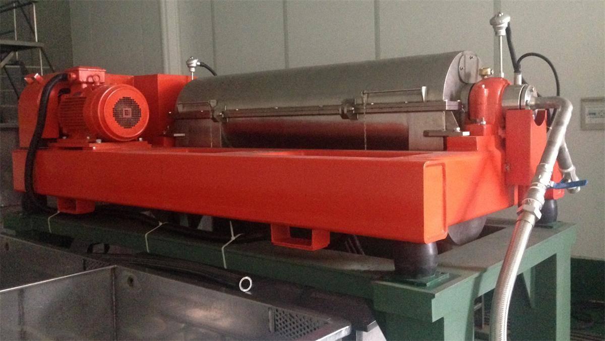 Decanter Centrifuge LW350ND for food application