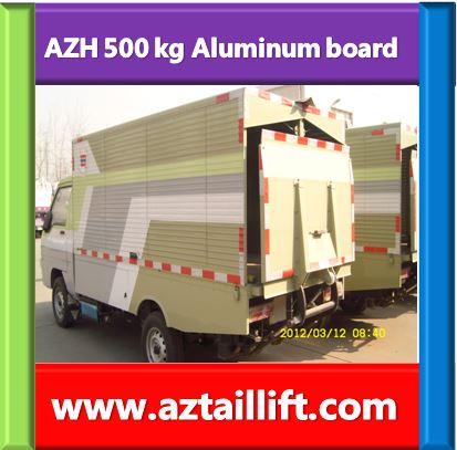 truck body tail lift