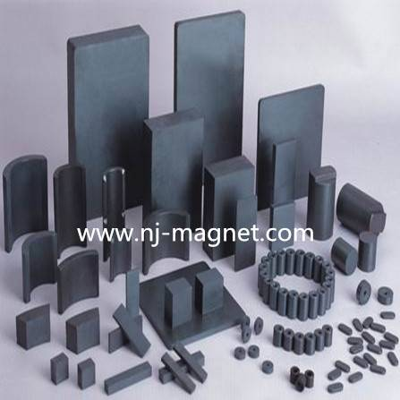Strong Rings Ferrite Magnets Customized Speaker Magnet for Sale