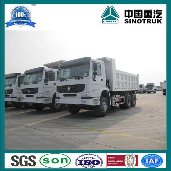 sinotruk 371hp howo dump truck