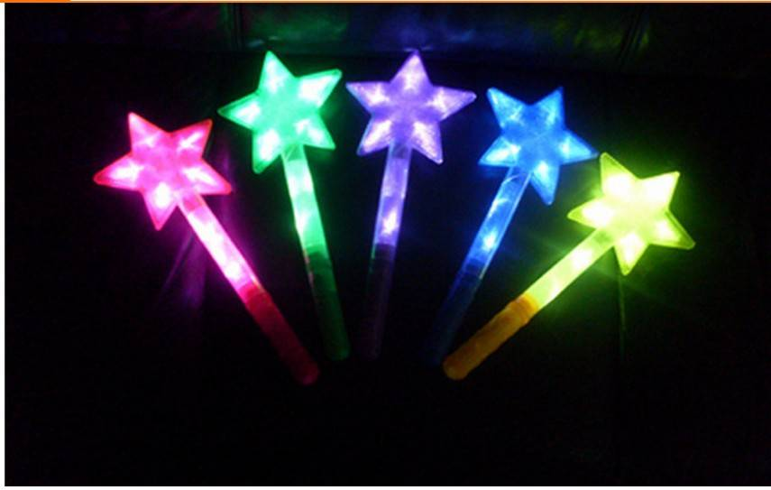 christmas toy LED start decoration luminous christmas