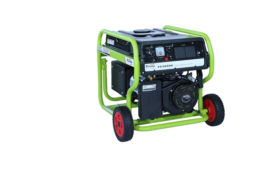 New, Fusinda 3kVA Electric Start Gasoline Power Generator with CE, ISO9001