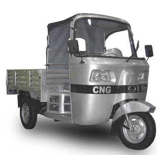 tricycle, auto rickshaw, 3 wheeler, pick up, cargo, CNG, dual fuel, CK150ZH
