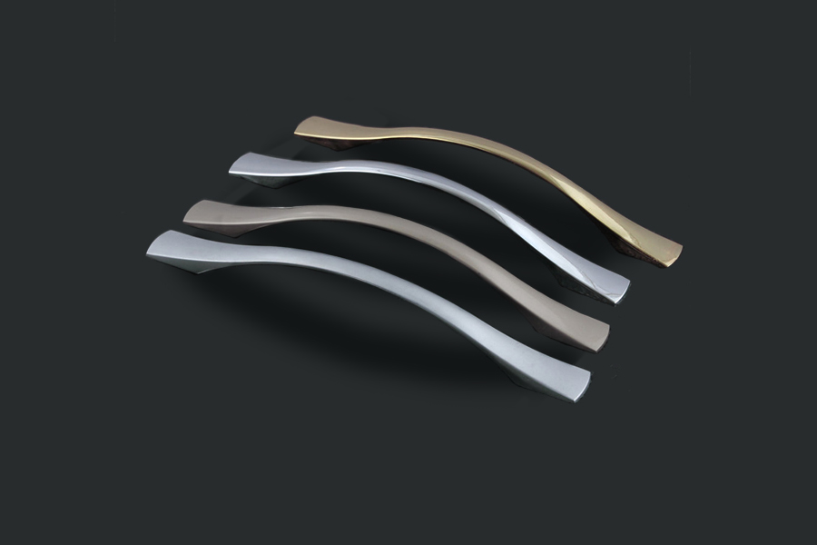 Zinc alloy cabinet drawer handle