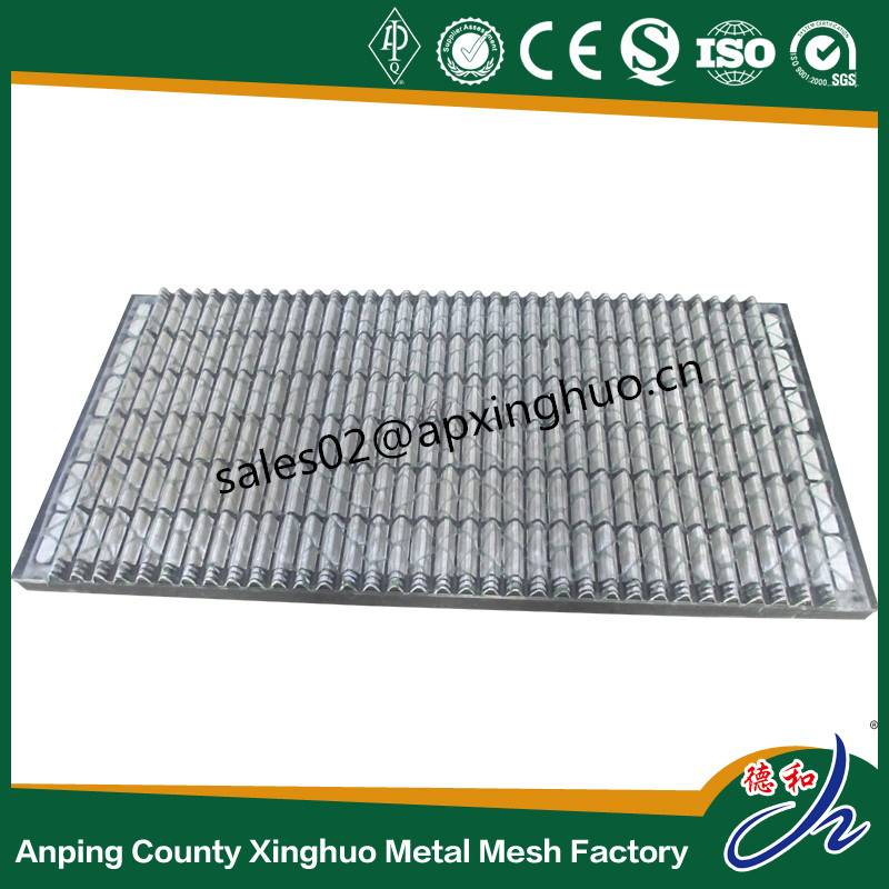 Wave type Mongoose shale shaker screen