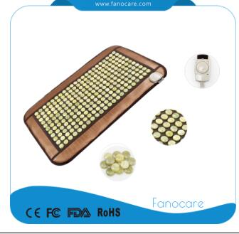 Fancoare natural stone therapy Mini jade heating mat with nano massage cushion