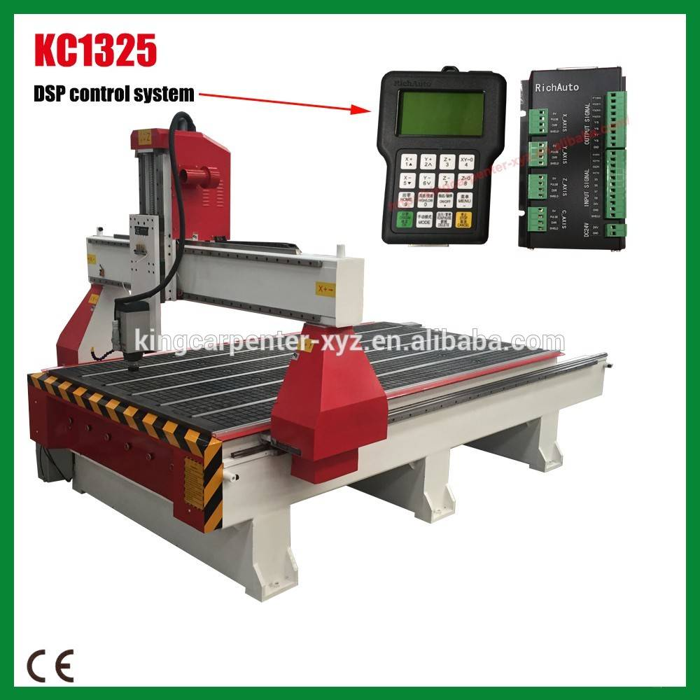 High quality cnc router KC1325 of cnc woodworking machinery price