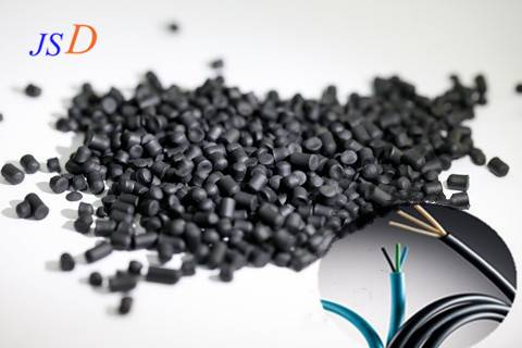 Cable sheath compounds TPE modified pellets halogen free flame-retardant