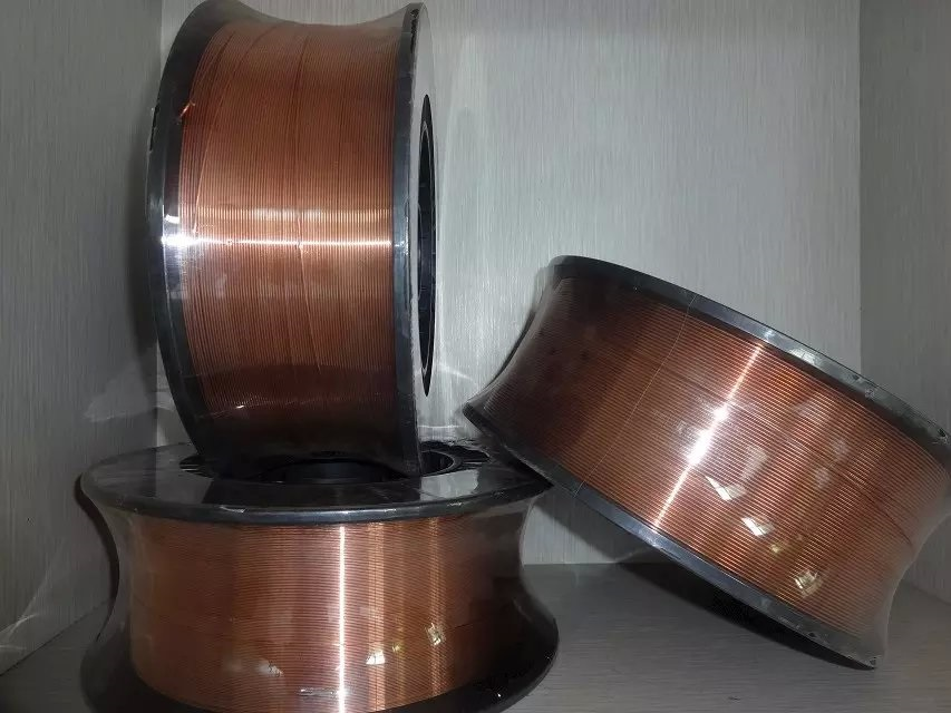 AWS ER70S-6 Copper Coated Mild Steel CO2 gas shielded Welding Wire MIG Welding Wire 0.8 mm 1.0 mm 1.