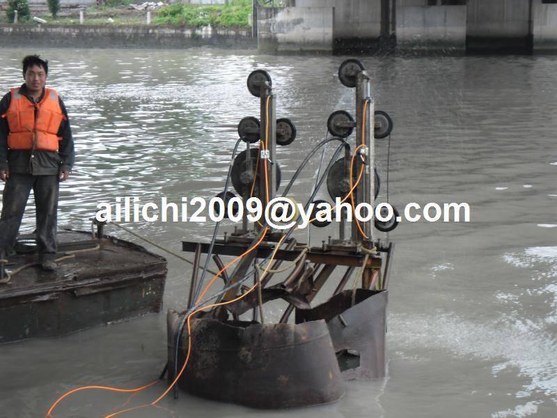 utility concrete cutting machine hydraulic diamond wire saw machine