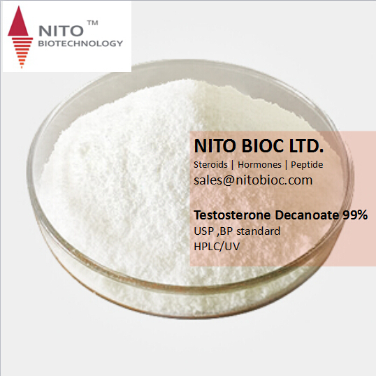 High Quality Strong Steroid Testosterone Decanoate for Bodybuilding, factory control quality