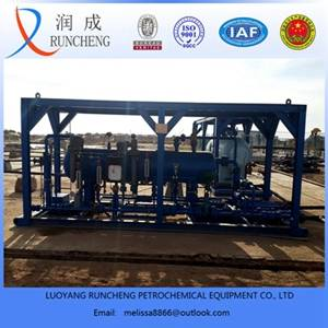 3 phase separator for gas and oil well drilling