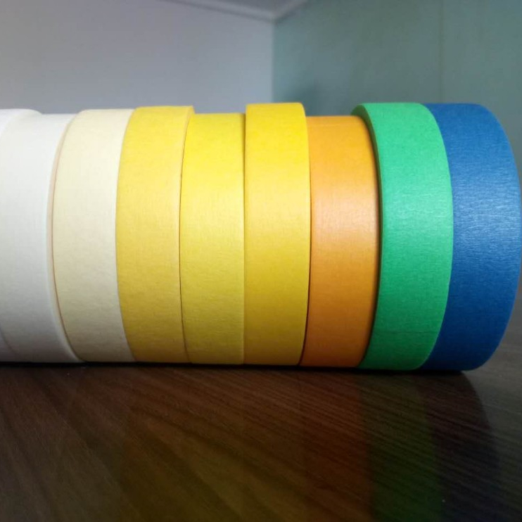 Colorful Masking Tape For decorative Cheap Adhesive Tape