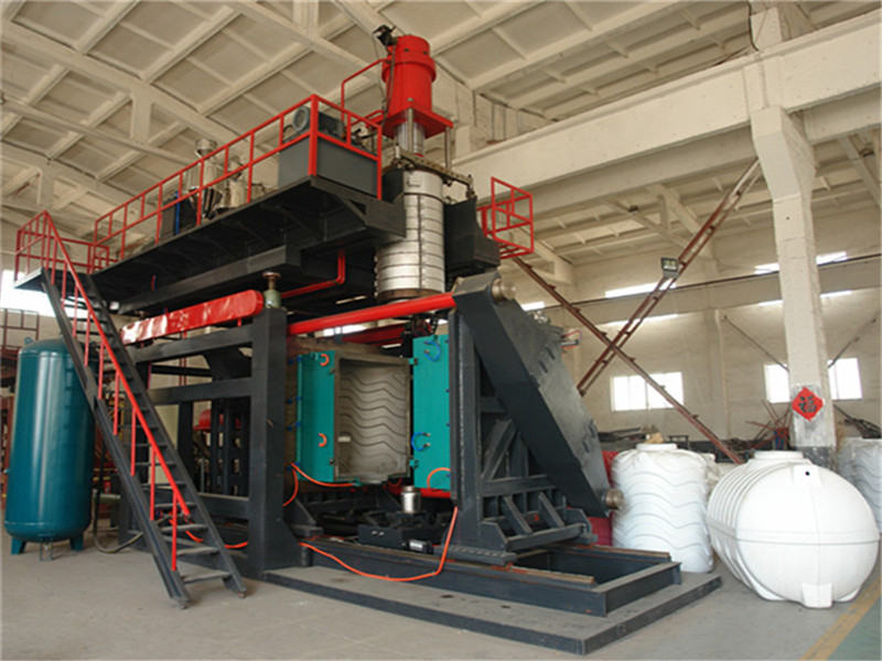 1000L 3 layers water tank blowing machinery