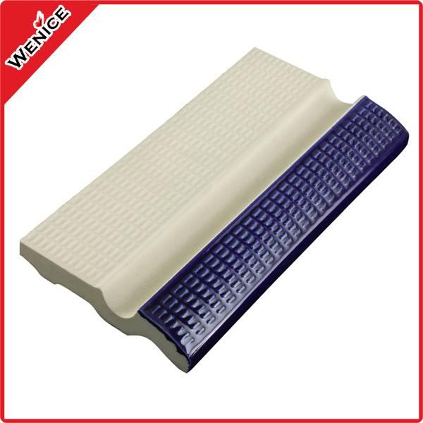 ceramic cobalt blue swimming pool tile handgrip YC3-1