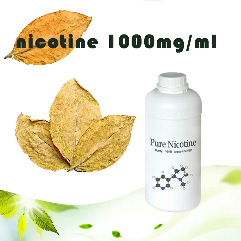 We professional manufacture pure nicotine CAS:54-11-5