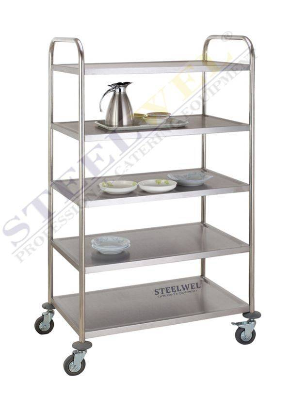 steelwel service trolley