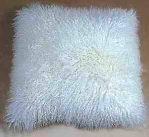 tiebt lamb fur cushion