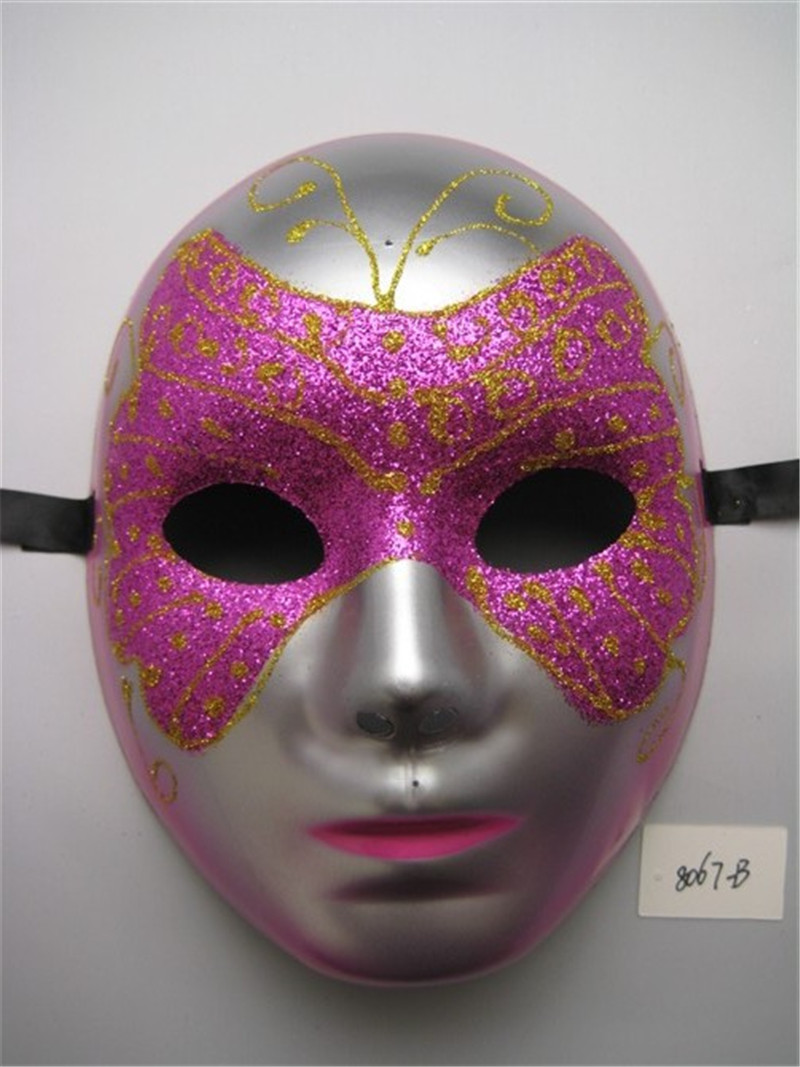 Eye Shadow Flame Full Face Party Mask For Venetian Masquerade Party