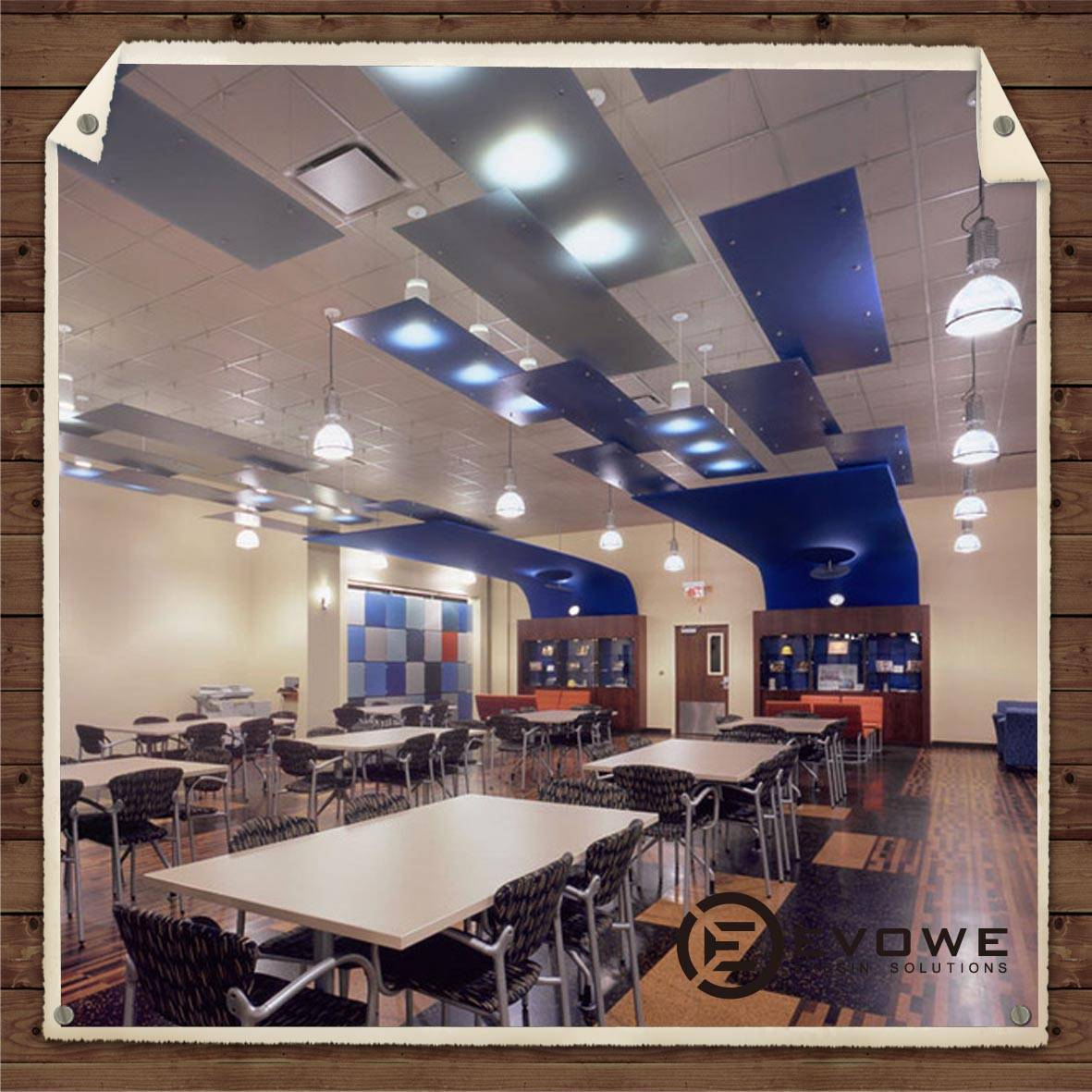 Luxface resin panel interior decorating ceiling