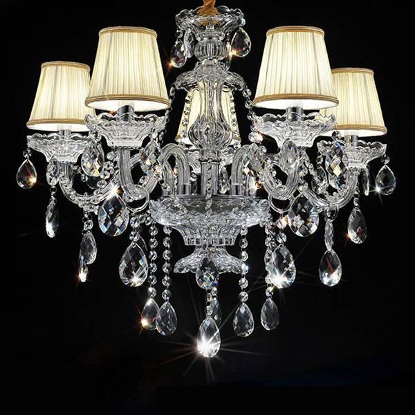 Lowest price chandelier led crystal pendant lighting