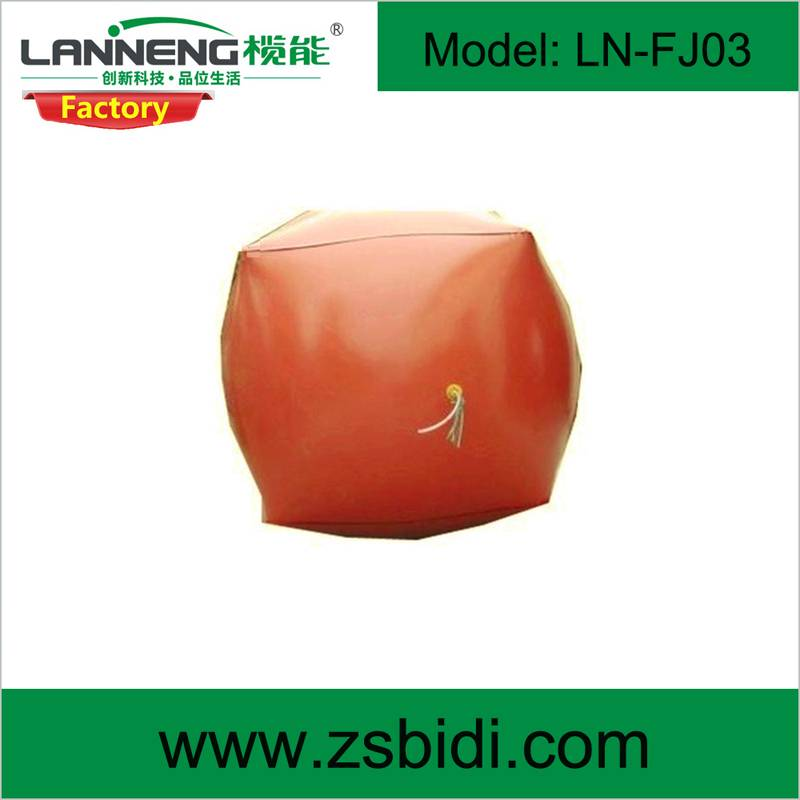 Durable biogas digester bag with long service life