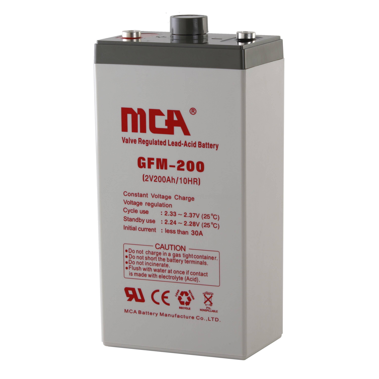 2V200AH Solar battery