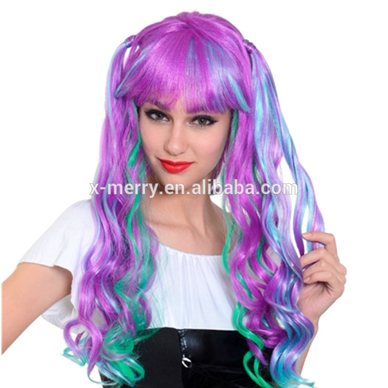 X-MERRY TOY Synthetic Hair Premium Quality Full Length Long Wavy Cosplay Party Wigs x30006
