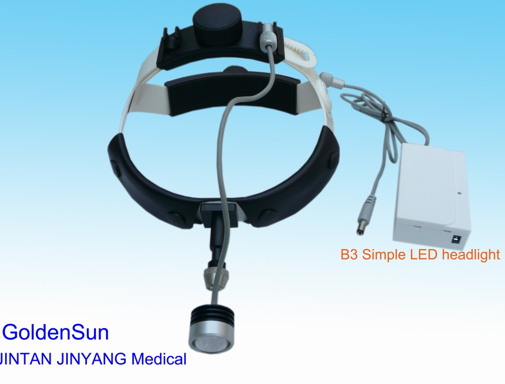 Dental surgical small led head light