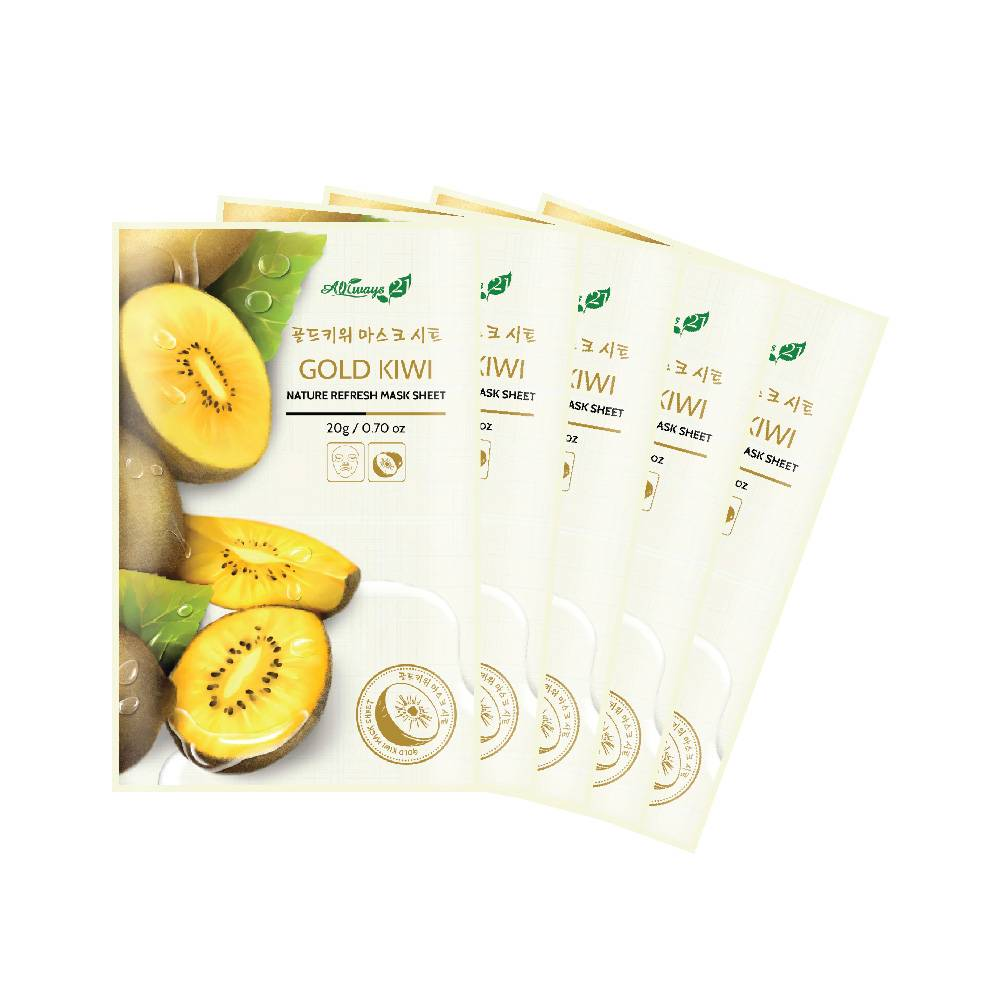 Always21 Nature Refresh Gold Kiwi Mask Pack