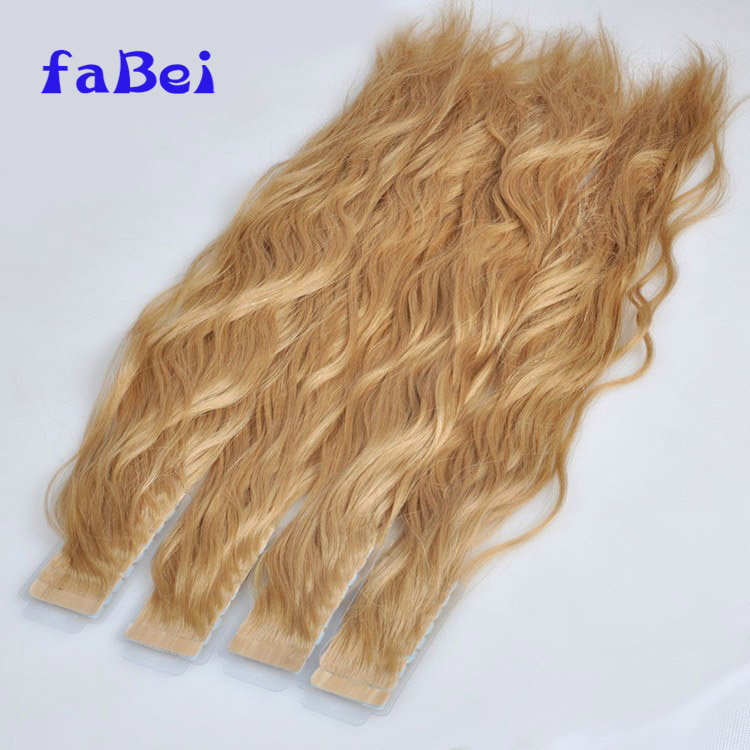 Large Stock Russian Hair Double Drawn Skin Weft 20Inch Tape Human Hair Extensions