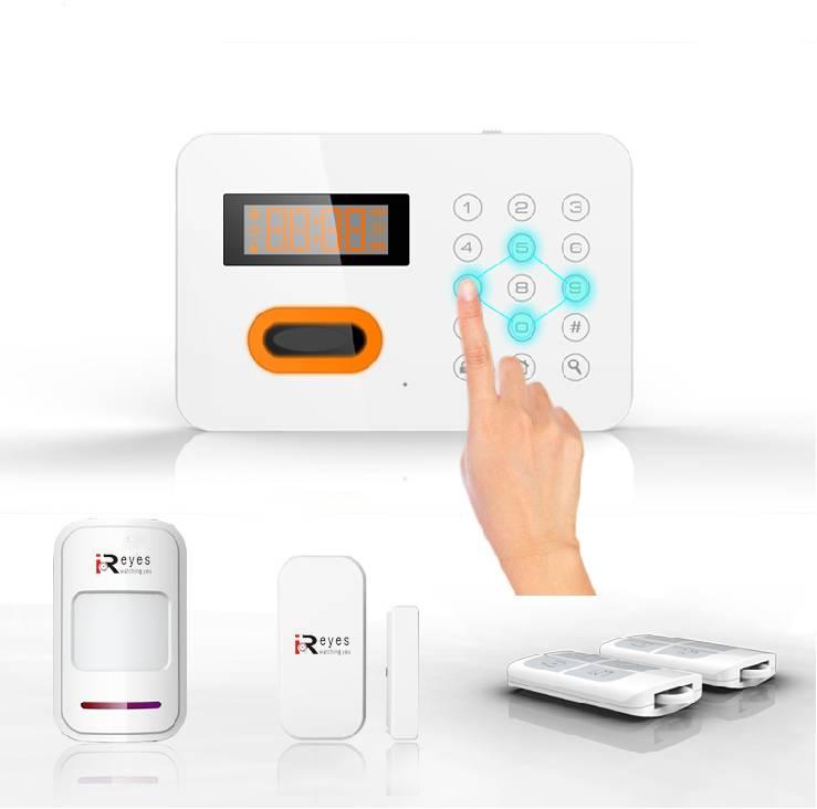 Wireless GSM Alarm 120 Wireless Zones