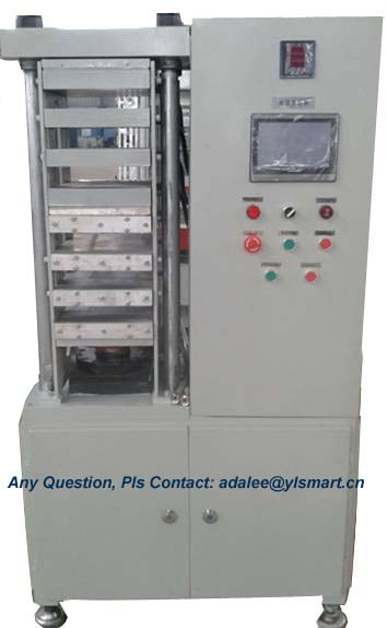 Plastic Card Laminator YLL-16A4 _Solid relay controlled, 1 tower, 3 cool+3 hot openings, A4 sheet l