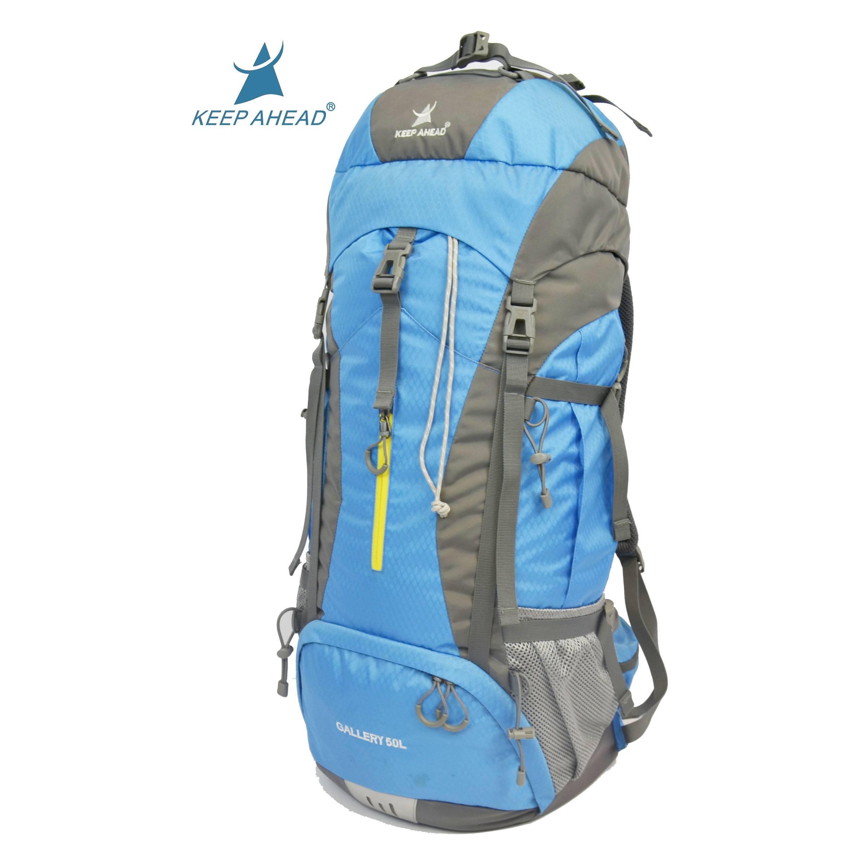 Large capacity outdoor sport mountaineering bag nylon waterproof backpack