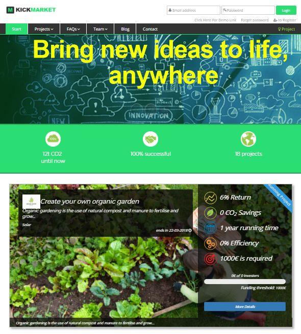 Crowdfunding platform, Fundraising platform