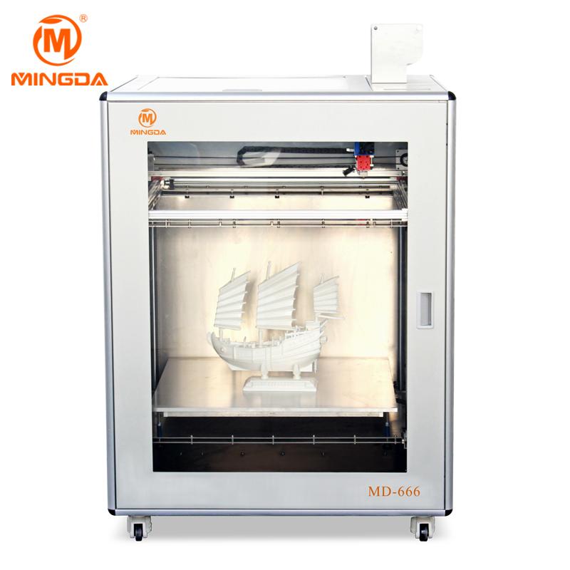 New design MD-666 100010001130mm 3D Desktop printer for ABS/PLA Filament