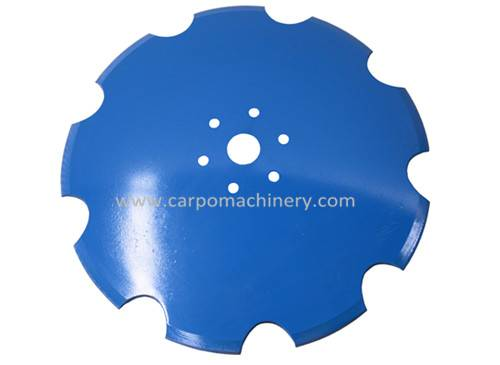 Smoothed Disc Blade with Hexagonal Hole