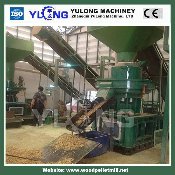 SKJ450 hydraulic briquette machine ISO9001