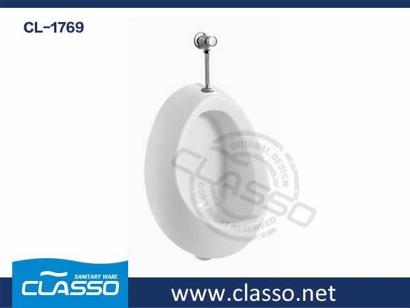 New Design Hotel Ceramic Wall Urinal Turkish Brand Classo(CL-1769)