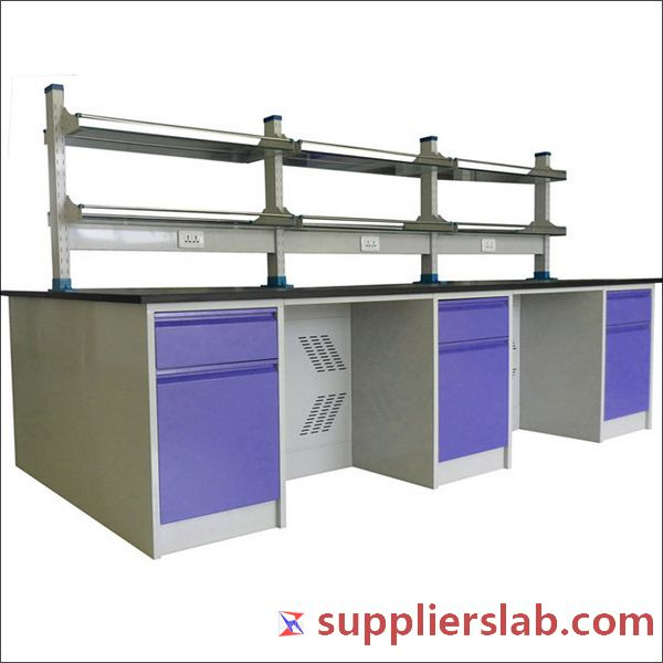 Metal Frame Lab Table