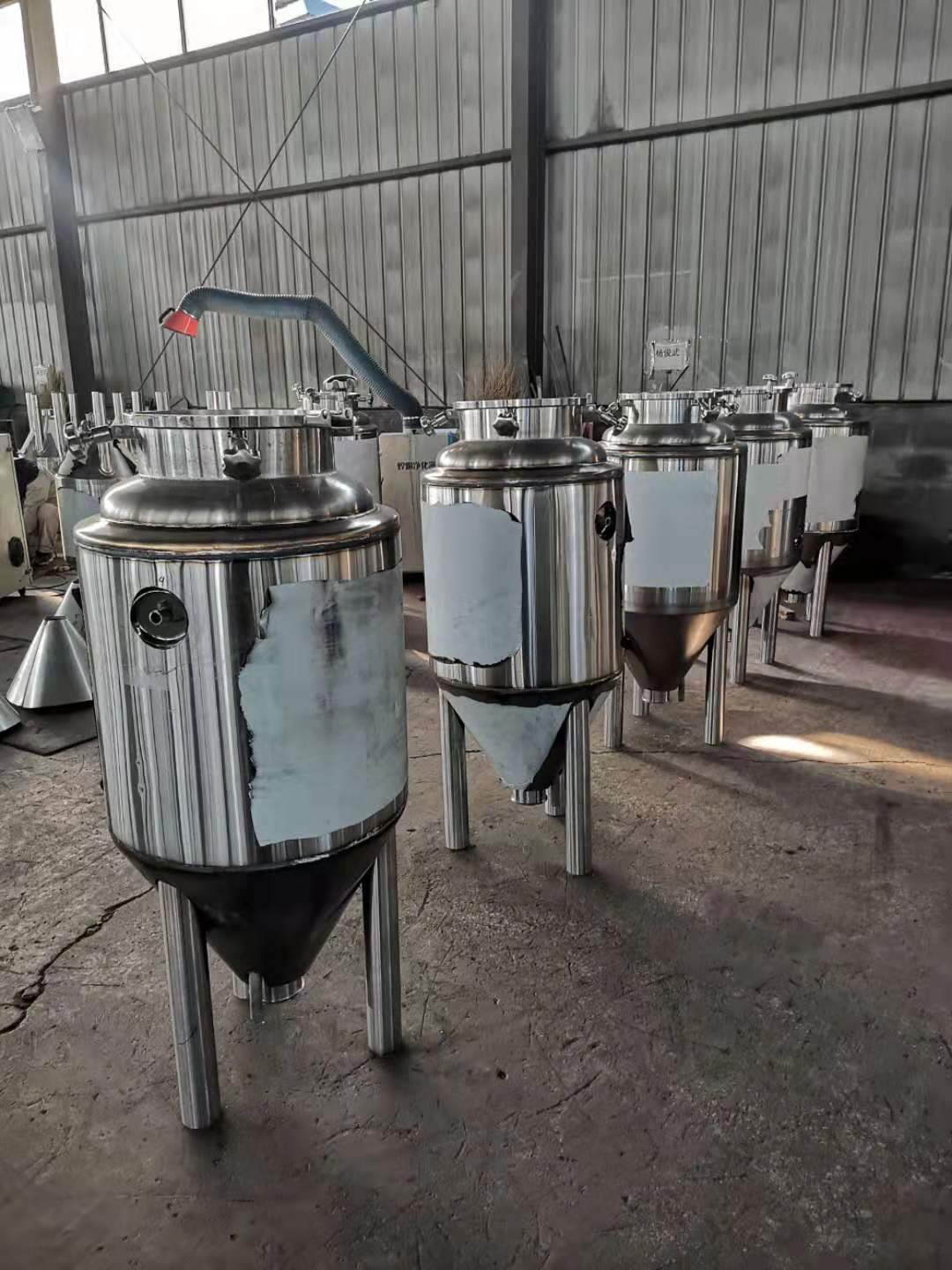 100L fermenters for home brewery in stock