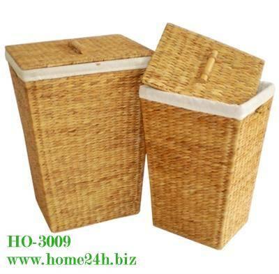 Water hyacinth Hamper Laundry Baskets Storage