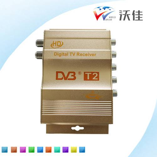mobile digital tv receiver car DVB-T2 for Russia,Romania