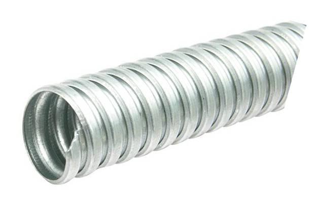 galvanized metal flexible pipe
