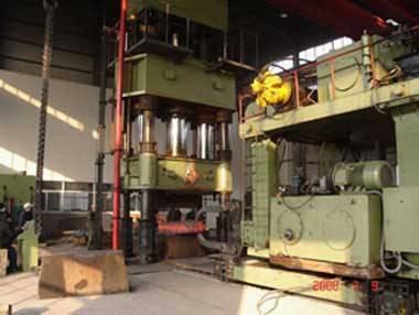 hot forging hydraulic press