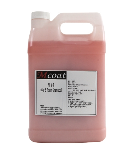 MCoat Car Shampoo from Mfam