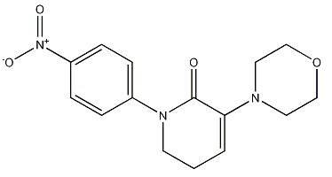 3-morpholino-1-(4-nitrophenyl)piperidin-2-one