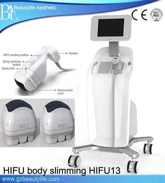 2016 New Lipohifu Tech Belly Fat Removal Machine/Hifu for Body Shape
