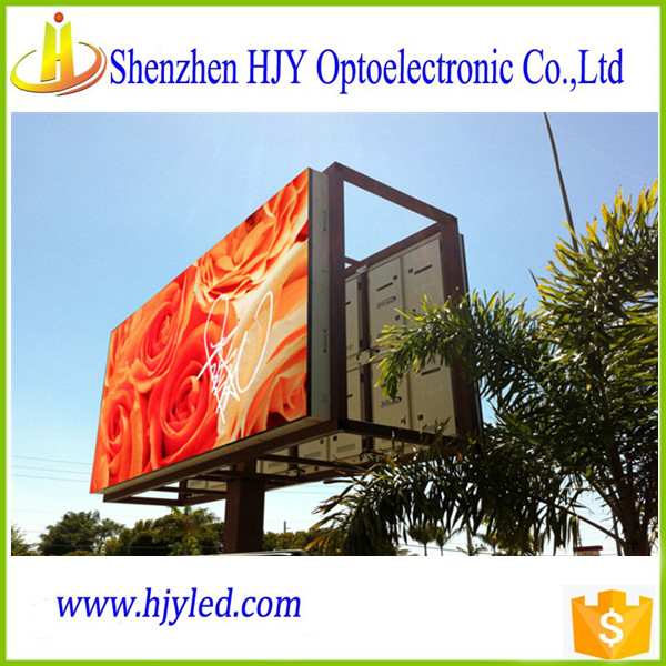China outdoor led display p10 customized size 10mm led video billboard/screen
