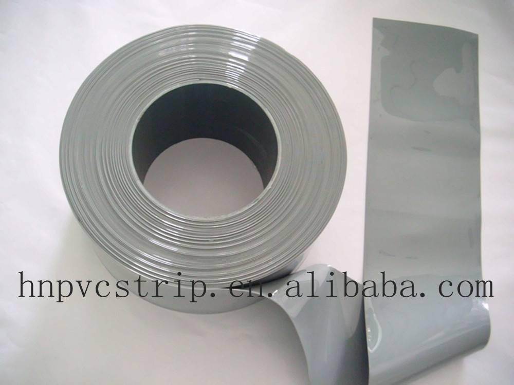 Opaqueness pvc standard grey strip curtain